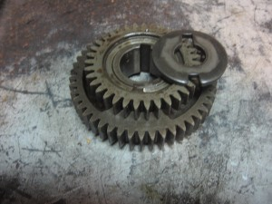 primary drive gear/washer claw // tr1 / xv1000		4x7-16111-00 /90214-20022