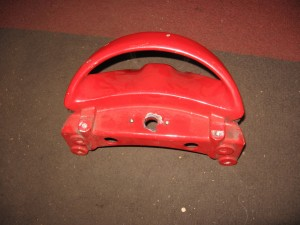 handgreep achter ,rood , rear grab handle 	St4s 01-05	80610111AA